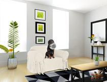 Capa Para Poltrona Sofá 1 Lugar Impermeável Acquablock Protetor Gato Criança Cachorro Pet Tecido Karsten - Casabrasile