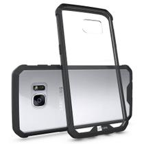 Capa Para Samsung Galaxy S7 Edge Air Hybrid Preta Anti Impacto - Up Case