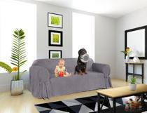 Capa para Sofá de 5 lugares em Acquablock Impermeável  Macia e Resistente Para Cachorro Gatos Kids - Leobrasile