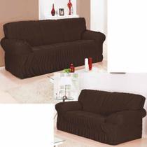 Capa para sofá em malha 2 e 3 lugares 32 elástico - Realce