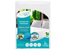 Capa para Travesseiro Antiácaro Impermeável Lynel - Techlife Branco
