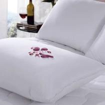 Capa Para Travesseiro Impermeável Com Zíper - 50x70 - Trisoft