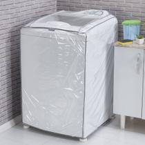 Capa Para Vários Modelos De Máquina De Lavar Roupa No Tamanho G = 69cm x 66cm x 91cm - Tutti casa