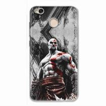 Capa para Xiaomi Redmi 4X God of War Kratos 02 - Quero case