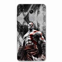 Capa para Xiaomi Redmi Note 4/4X God of War Kratos 02 - Quero case
