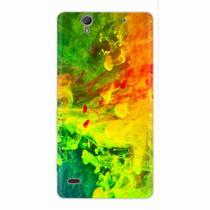 Capa para Xperia C4 Abstract Painting 01 - Quero case