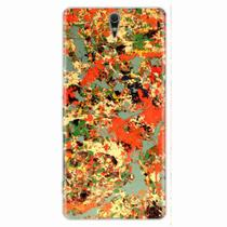 Capa para Xperia C5 Abstract Painting 02 - Quero case