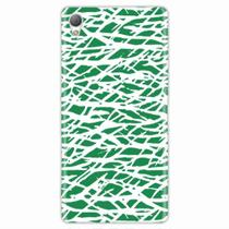 Capa para Xperia Z1 Green Abstract - Quero case
