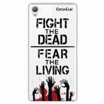 Capa para Xperia Z1 Walking Dead - Fight The Dead - Quero case