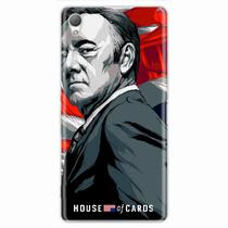 Capa para Xperia Z2 House Of Cards Frank Underwood - Quero case