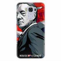 Capa para Zenfone 3 Max 5.5 House Of Cards Frank Underwood - Quero case
