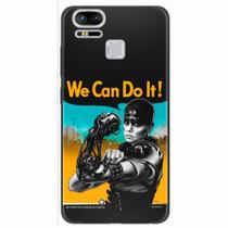 Capa para Zenfone 3 Zoom ZE553KL We Can Do It! 01 - Quero case