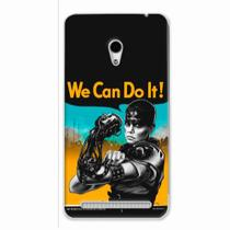 Capa para Zenfone 6 We Can Do It! 01 - Quero case