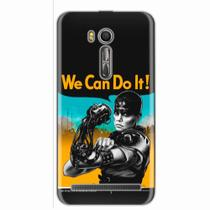 Capa para Zenfone Go Live 5.5 ZB551 We Can Do It! 01 - Quero case