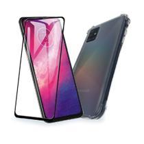 Capa + Película 3D p/ Galaxy A02s - Quarkcase