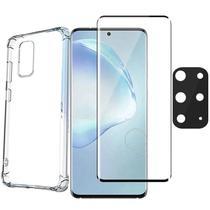 Capa Película Curvada3D Protetor Câmera Gel Samsung S20 Plus - Highquality