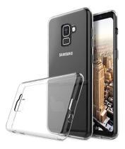 Capa + Pelicula De Gel Tela Toda Galaxy A8 2018 A530 - Cell Case