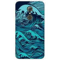 Capa Personalizada Alcatel A7 - Ondas - AT05