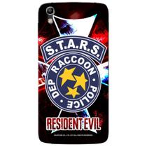 Capa Personalizada Alcatel Idol 4 5.2 - Resident Evil S.T.A.R.S RPD - RD05 - Pineng