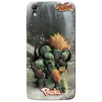 Capa Personalizada Alcatel Idol 4 5.2 - Street Fighter Blanka - SF12 - Pineng