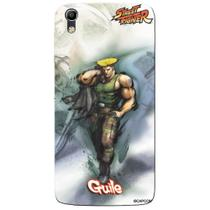 Capa Personalizada Alcatel Idol 4 5.2 - Street Fighter Guile - SF11 - Pineng
