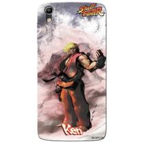 Capa Personalizada Alcatel Idol 4 5.2 - Street Fighter Ken - SF09 - Pineng