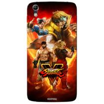 Capa Personalizada Alcatel Idol 4 5.2 - Street Fighter V - SF06 - Pineng