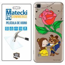 Capa Personalizada Bela e a Fera + Película de Vidro para LG X Style K200 - Matecki -