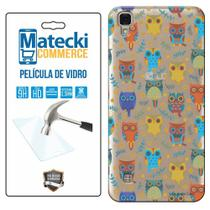 Capa Personalizada Corujas + Película de Vidro para LG X Style K200 - Matecki -