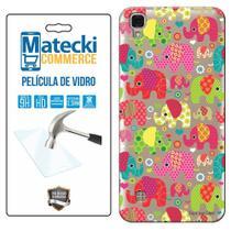 Capa Personalizada Elefantes + Película de Vidro para LG X Style K200 - Matecki -