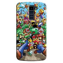 Capa Personalizada Exclusiva LG K10 TV K430DSF Games Super Mario - GA27