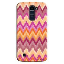 Capa Personalizada Exclusiva LG K10 TV K430DSF Textura Mosaico - TX70 -
