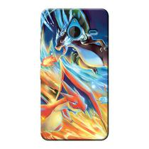 Capa Personalizada Exclusiva Microsoft Lumia 640 XL Pokemon - GA22