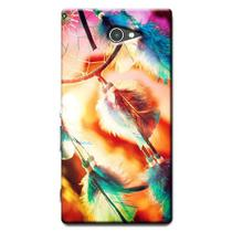 Capa Personalizada Exclusiva Sony Xperia M2 Aqua D2403 D2406 - AT16