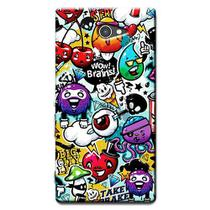 Capa Personalizada Exclusiva Sony Xperia M2 Aqua D2403 D2406 - AT22