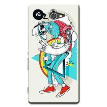 Capa Personalizada Exclusiva Sony Xperia M2 Aqua D2403 D2406 - AT52
