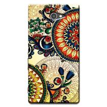 Capa Personalizada Exclusiva Sony Xperia M2 Aqua D2403 D2406 - AT57
