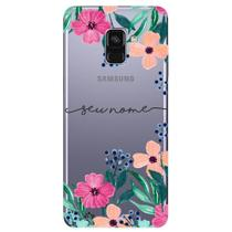 Capa Personalizada Galaxy A8 2018 Plus - NM07 - Samsung