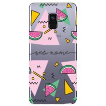 Capa Personalizada Galaxy A8 2018 Plus - NM13 - Samsung