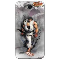 Capa Personalizada LG K10 Power  - Street Fighter Ryu - SF08