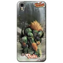 Capa Personalizada LG X Power K220 - Street Fighter Blanka - SF12