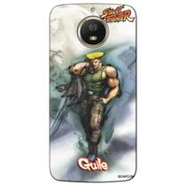 Capa Personalizada Motorola Moto G5S Plus 2017 - Street Fighter Guile - SF11
