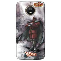 Capa Personalizada Motorola Moto G5S Plus 2017 - Street Fighter Mr. Bison - SF13