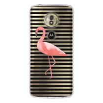 Capa Personalizada Motorola Moto G6 Play - Flamingos - TP317 - Drkappa