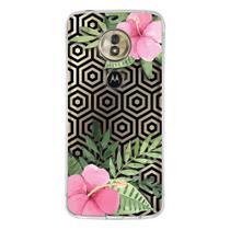 Capa Personalizada Motorola Moto G6 Play - Floral - FL25 - Drkappa