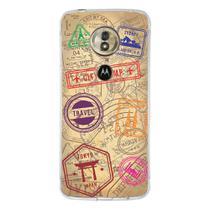 Capa Personalizada Motorola Moto G6 Play - Travel Cards - MC04 - Drkappa