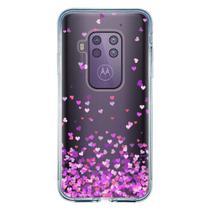 Capa Personalizada Motorola One Zoom - Corações - TP167 - Drkappa