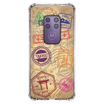 Capa Personalizada Motorola One Zoom XT2010 - Travel Cards - MC04 - Matecki