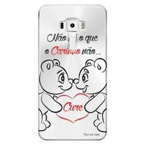 Capa Personalizada para Asus Zenfone 3 5.7 Deluxe ZS570KL Frases - TP110