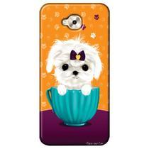 Capa Personalizada para Asus Zenfone 4 Selfie Pro 5.5 ZD552KL - Cachorro no Pote - DE03 -